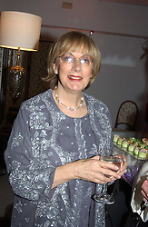 NINA CAMPBELL at a party hosted American House and Garden magazine with Tomasz Starzewski and Nina Campbell to celebrate the British Issue of the magazine, held at 14 Stanhope Mews West, London SW7 on 13th March 2005.<br />