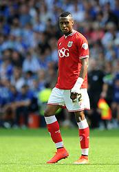 Jonathan Kodjia of Bristol City - Mandatory byline: Dougie Allward/JMP - 07966386802 - 08/08/2015 - FOOTBALL - Hillsborough Stadium -Sheffield,England - Sheffield Wednesday v Bristol City - Sky Bet Championship