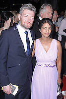 Charlie Brooker & Konnie Huq, Arqiva British Academy Television Awards - After Party, Grosvenor House, London UK, 18 May 2014, Photo by Brett D. Cove
