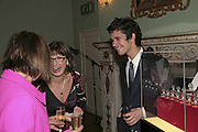 BEN WHISHAW AND HIS MOTHER LINDA, PARTY AT DARTMOUTH HOUSE AFTER A PREMIERE SCREENING OF PERFUME AT THE CURZON. LONDON.<br />
