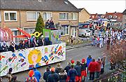 Nederland, Millingen, 14-2-2015Carnavalsoptocht door het dorp.FOTO: FLIP FRANSSEN/ HOLLANDSE HOOGTE