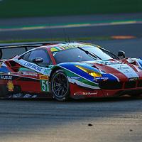 #51, Ferrari 488 GTE, AF Corse, driven by Gianmaria Bruni, James Calado, FIA WEC 6hrs of Spa 2016, 07/05/2016,