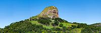 Brasil - ES - Vitoria - Vista panoramica da pedra dos Dois Olhos