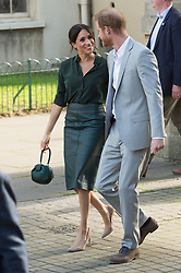 October 3, 2018 - Brighton, Brighton, United Kingdom - Prince Harry, the Duke of Sussex and Meghan, Duchess of Sussex visit the Royal Pavilion in Brighton, Sussex on 03 October 2018. (Credit Image: © Ray Tang/ZUMA Wire)