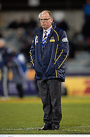 18 June 2013; Brumbies head coach Jake White ahead of the game. British & Irish Lions Tour 2013, Brumbies v British & Irish Lions. Canberra Stadium, Bruce, Canberra, Australia. Picture credit: Stephen McCarthy / SPORTSFILE