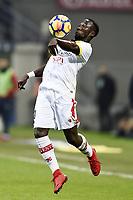 Bacary Sagna Benevento <br /> Milano 24-02-108 Stadio Giuseppe Meazza in Sans siro football Calcio Serie A 2017/2018 Foto Image Sport / Insidefoto