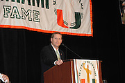2010 University of Miami Sports Hall of Fame Induction Banquet
