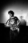 Bono of U2 at a rehearsal session at Shepperton Studios - 1982