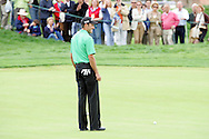 Charl Schwartzel par putt narrowly misses on the 18th green in the final round but he knows he has still won the Open de Espana in Madrid...Photo NEWSFILE/Manus O'Reilly.(Photo credit should read Manus O'Reilly/NEWSFILE)....This Picture has been sent you under the condtions enclosed by:.Newsfile Ltd..The Studio,.Millmount Abbey,.Drogheda,.Co Meath..Ireland..Tel: +353(0)41-9871240.Fax: +353(0)41-9871260.GSM: +353(0)86-2500958.email: pictures@newsfile.ie.www.newsfile.ie.FTP: 193.120.102.198..