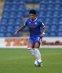 Courtney Senior of Colchester United on the ball - Mandatory by-line: Arron Gent/JMP - 03/10/2020 - FOOTBALL - JobServe Community Stadium - Colchester, England - Colchester United v Oldham Athletic - Sky Bet League Two