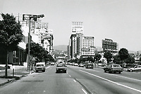 1987 Looking north on Vine St. towards Hollywood Blvd.