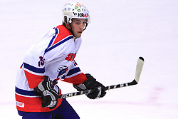Ziga Pance at friendly ice-hockey game between Slovenian National Team U20 and HKMK Bled, before World Championship Division 1, Group A in Herisau, Switzerland, on December 11, 2008, in Bled, Slovenia. (Photo by Vid Ponikvar / Sportida)