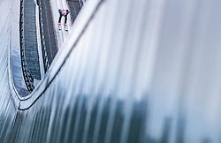 01.01.2018, Olympiaschanze, Garmisch Partenkirchen, GER, FIS Weltcup Ski Sprung, Vierschanzentournee, Garmisch Partenkirchen, Probesprung, im Bild Dawid Kubacki (POL) // Dawid Kubacki of Poland during his Trial Jump for the Four Hills Tournament of FIS Ski Jumping World Cup at the Olympiaschanze in Garmisch Partenkirchen, Germany on 2018/01/01. EXPA Pictures © 2018, PhotoCredit: EXPA/ JFK