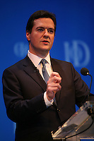 Institute of Directors Annual Convention, Albert Hall, London, UK...George Osborne,Mp, Conservative speaking at the Institute of Directors Annual Convention.