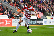 Matty Blair of Doncaster Rovers (17) shapes to cross the ball during the EFL Sky Bet League 1 match between Doncaster Rovers and Gillingham at the Keepmoat Stadium, Doncaster, England on 20 October 2018.