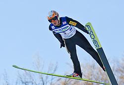 05.02.2011, Heini Klopfer Skiflugschanze, Oberstdorf, GER, FIS World Cup, Ski Jumping, Probedurchgang, im Bild Piotr Zyla (POL) , during ski jump at the ski jumping world cup Trail round in Oberstdorf, Germany on 05/02/2011, EXPA Pictures © 2011, PhotoCredit: EXPA/ P. Rinderer