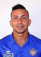 Colombia League - Liga Aguila 2015-2016 - <br /> Club Deportivo Junior de Barranquilla - Colombia / <br /> Leiner de Jesus Escalante Escorcia