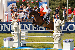 Joosten Cejay, NED, Sagnol<br /> European Championship Children, Juniors, Young Riders - Fontainebleau 1028<br /> © Hippo Foto - Dirk Caremans<br /> Joosten Cejay, NED, Sagnol