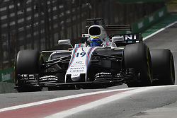 November 10, 2017 - Sao Paulo, Brazil - Motorsports: FIA Formula One World Championship 2017, Grand Prix of Brazil, .#19 Felipe Massa (BRA, Williams Martini Racing) (Credit Image: © Hoch Zwei via ZUMA Wire)