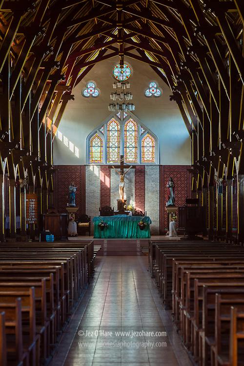 Gereja St. Ignatius Loyola, Sikka, Flores, Nusa Tenggara Timur, Indonesia
