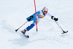 MEDVEDEVA Inga, RUS, Slalom, 2013 IPC Alpine Skiing World Championships, La Molina, Spain