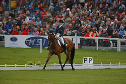 """Donckers Karin (BEL) - Gazelle de Brasserie<br /> First after dressage<br /> """"The Mitsubishi Motors Badminton Horse Trials""""<br /> CCI**** Badminton 2009<br /> © Dirk Caremans"""