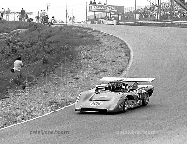 Hiroshi Kazato in Lola T222 at 1971 Mosport Can-Am