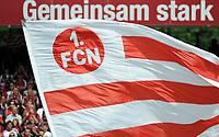 Fotball<br /> Tyskland<br /> Foto: Witters/Digitalsport<br /> NORWAY ONLY<br /> <br /> 31.05.2009<br /> <br /> Feature Fahne Nuernberg<br /> <br /> Bundesliga Relegation 1. FC Nürnberg - Energie Cottbus 2:0