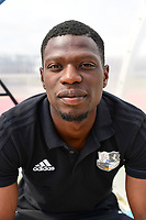 Bakaye Dibassy of Amiens during the pre season friendly between Amiens SC and Sporting Charleroi on July 14, 2017 in Cambon, France. (Photo by Dave Winter/Icon Sport)