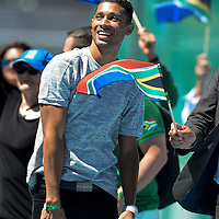 Cape Town honours Olympians and Paralympians 17 October 2016