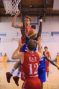 DESCRIZIONE : Borgosesia Torneo di Varallo Lega A 2011-12 EA7 Emporio Armani Milano Novipiu Casale Monferrato<br /> GIOCATORE : Nicolo Melli<br /> CATEGORIA : Assist Penetrazione<br /> SQUADRA : EA7 Emporio Armani Milano<br /> EVENTO : Campionato Lega A 2011-2012<br /> GARA : EA7 Emporio Armani Milano Novipiu Casale Monferrato<br /> DATA : 10/09/2011<br /> SPORT : Pallacanestro<br /> AUTORE : Agenzia Ciamillo-Castoria/A.Dealberto<br /> Galleria : Lega Basket A 2011-2012<br /> Fotonotizia : Borgosesia Torneo di Varallo Lega A 2011-12 EA7 Emporio Armani Milano Novipiu Casale Monferrato<br /> Predefinita :