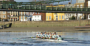 "Putney, GREAT BRITAIN, Cambridge crew Dagger, approaching Hammersmith Bridge, Cambridge UBC. {CUBC} Trial Eights Race  2011  Varsity Trial Eights raced over the championship course, River Thames.. Putney to Mortlake,  Tuesday  13/12/2011  [Mandatory Credit, Peter Spurrier/Intersport-images]..Crews. .NAME OF BOAT: ""Cloak"" Surrey Station.Bow: Felix Wood.2: Peter Dewhurst.3: Sam Lloyd.4: Josh Pendry.5: Joel Jennings.6: Moritz Schramm.7: Jack Lindemann.Stroke: Alexander Scharp.Cox: Sarah Smart..NAME OF BOAT: ""Dagger"" Middx Station.Bow: Rowan Lawson.2: Phil Williams.3: Nicolas Kernick.4: Alex Ross.5: Mike Thorp.6: Niles Garratt.7: David Nelson.Stroke: Stephen Dudek.Cox: Ed Bosson.[Mandatory Credit, Peter Spurrier/Intersport-images].."