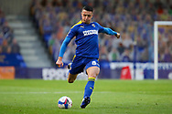 AFC Wimbledon midfielder Anthony Hartigan (8) taking free kick and setting up goal for AFC Wimbledon defender Ben Heneghan (22) during the EFL Sky Bet League 1 match between AFC Wimbledon and Bristol Rovers at Plough Lane, London, United Kingdom on 5 December 2020.