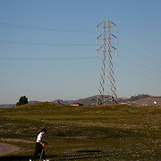 The First Tee of Monterey County opens the door to golf, as well as academic tutoring,  to many underprivileged kids of Salinas, CA, like Jose Calderon. The 9 hole course weaves by homes and through high voltage towers.