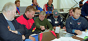 Lucerne, SWITZERLAND. Matt PINSENT, interviewed after the final. By left Geoffrey PAGE, MP. Mike Haggerty, Robert TREHERNE-JONES, Mike ROSEWLL and Dan TOPOLSKI    2000 FISA World Cup, Rotsee Rowing Course, June 2000.  [Mandatory Credit, Peter Spurrier/Intersport-images] 2000 FISA World Cup, Lucerne, SWITZERLAND