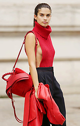 Hailey Baldwin, Courtney Love and Amber Valetta are among the celebrity sightings in Paris this week. 27 Sep 2017 Pictured: Sara Sampaio. Photo credit: MEGA TheMegaAgency.com +1 888 505 6342