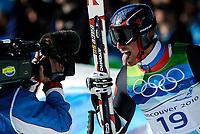 Alpint , 19. januar 2010 , OL Vancouver , super G herrer<br /> Aksel Lund Svindal , Norge tok gull