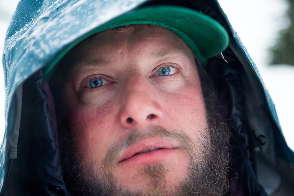 Up-close portrait of Chris Kitchen.