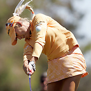 RANCHO MIRAGE, CA, March 29, 2007:  Natalie Gulbis lets it rip during first round of the Kraft Nabisco Championship at..Mission Hills C.C. in Rancho Mirage on March 29, 2007.
