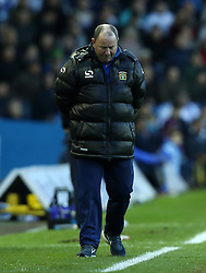 Yeovil Town Manager, Gary Johnson shows his disappointment-Photo mandatory by-line: Matt Bunn/JMP - Tel: Mobile: 07966 386802 02/11/2013 - SPORT - FOOTBALL - Elland Road - Leeds - Leeds United v Yeovil Town - Sky Bet Championship
