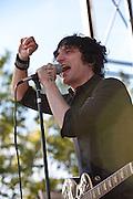 Jesse Malin & the St. Marks Social at 2010 Union County Music Festival, Clark, NJ.