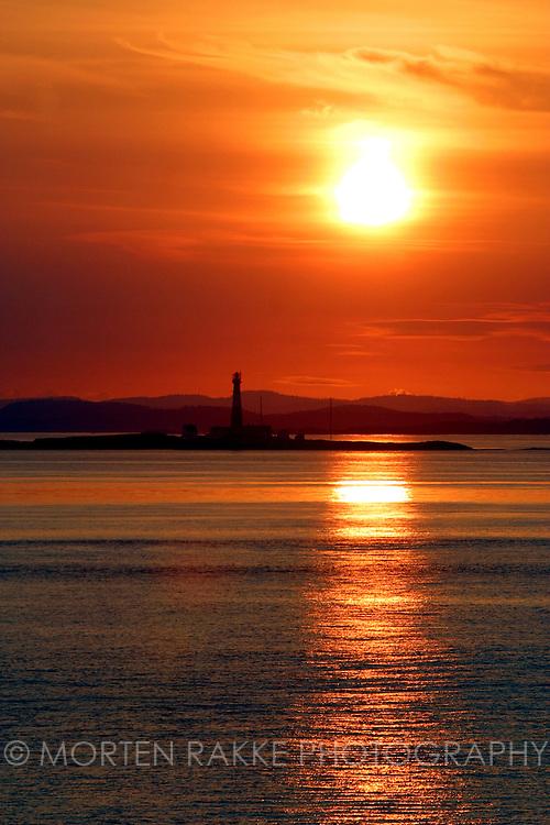 Færder Fyr lighthouse, Vestfold, Norway