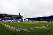 General view of St Andrews  Stadium during the EFL Sky Bet Championship match between Birmingham City and Burton Albion at St Andrews, Birmingham, England on 17 April 2017. Photo by Richard Holmes.
