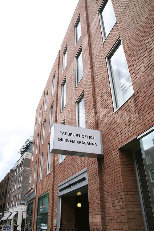 The passport office on Molesworth Street in Dublin Ireland