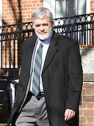CHARLOTTESVILLE, VA - FEBRUARY 07: Commonwealth's attorney Dave Chapman walks to the Charlottesville Circuit Court for the George Huguely trial. Huguely was charged in the May 2010 death of his girlfriend Yeardley Love. She was a member of the Virginia women's lacrosse team. Huguely pleaded not guilty to first-degree murder. (Credit Image: © Andrew Shurtleff