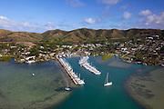 Kaneohe Yacht Club, Kaneohe Bay, Oahu, Hawaii.