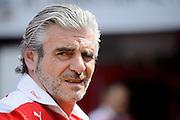May 25-29, 2016: Monaco Grand Prix. Maurizio Arrivabene, team principal of Scuderia Ferrari