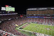 The San Francisco 49ers host the Arizona Cardinals at Levi's Stadium in Santa Clara, Calif., on October 6, 2016. (Stan Olszewski/Special to S.F. Examiner)