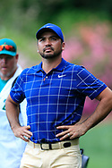 Jason Day (AUS) on the 13th green during the 1st round at the The Masters , Augusta National, Augusta, Georgia, USA. 11/04/2019.<br /> Picture Fran Caffrey / Golffile.ie<br /> <br /> All photo usage must carry mandatory copyright credit (© Golffile | Fran Caffrey)