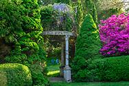 Gazebo, Garden at Huntting Ln, East Hampton, NY